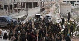 Miembros del ejército sirio también se enfrentaron al referido grupo terrorista en Idlib, contrarrestando la agresión registrada en al-Nerab.