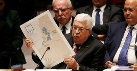 """El mandatario palestino describió que la iniciativa, abalada por el Gobierno de Israel, haría del territorio palestino un """"queso suizo""""."""