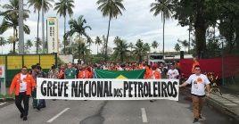 El 1 de febrero, la Federación Única de Petroleros y la Central Única de Trabajadores iniciaron la huelga petrolera el 1 de febrero