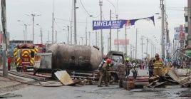 El pasado 23 de enero detonó el incendio, luegoque un camión cisterna sufriera una deflagración.