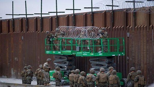 Los fondos desviados del Pentágono servirán para construir 285 kilómetros de vallado en la frontera con México.