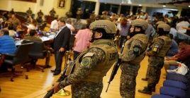 El Parlatino respondió a la actitud de Bukele en la Asamblea salvadoreña, tras presentarse con militares armados para discutir un plan de seguridad.