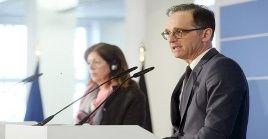 El ministro alemán expresó la necesidad de implementar el embargo de armas a Libia.