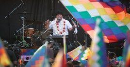 Evo Morales permanece exiliado en Argentina tras pasar un periodo en México tras el Golpe de Estado en su contra.