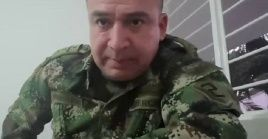 Army colonel Alvaro Amortegui, Colombia, Feb. 19, 2020.