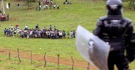 Los campesinos realizaron un llamado a organizaciones sociales para que denuncien la situación en el departamento del Meta.