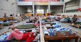 China ha construido instalaciones medicas para atender a los contagiados con el coronavirus.