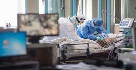 En las ultimas 24 horas las autoridades confirmaron la muerte de más de 90 personas por el coronavirus.