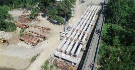 El costo de la inversión en el puente binacional sobre el río Sixaola asciende a 25 millones de dólares.
