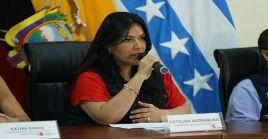 La ministra llamó a la ciudadanía a mantener la calma y a seguir prácticas cotidianas de prevención.