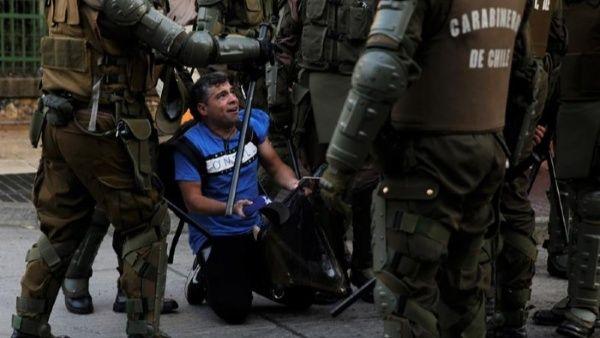 Desde octubre pasado, con el inicio del estallido social en Chile, se registró un saldo de al menos 31 muertos y centenares de heridos contra las manifestaciones pacíficas.