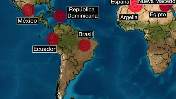 coronavirus en q paises esta