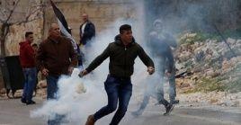 Los palestinos no han dejado de reclamar sus derechos históricos.