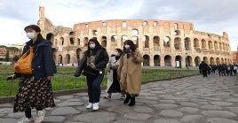Italia es uno de los países más afectados por el Covid-19, con 5.883 casos y 233 decesos.