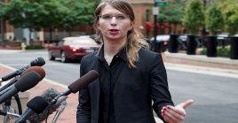 Manning estaba recluida en el centro de detenciones de Alexandria, estado de Virginia, en el que permanece privada de libertad desde marzo de 2019.