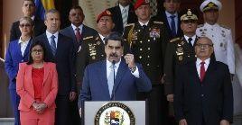 El presidente venezolano anunció este jueves las medidas para hacer frente a la pandemia del Covid-19.