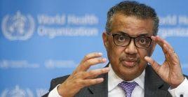 """""""Estamos profundamente preocupados por los niveles alarmantes (...) de inacción (de los gobiernos)"""". Tedros Adhanom Gebreyesus, Director General de la OMS."""