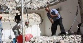 La destrucción de viviendas palestinas por el régimen de Israel pretende judaizar las urbes palestinas.