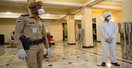 El Gobierno dominicano ordenó el cierre de fronteras por tierra, mar y aire.