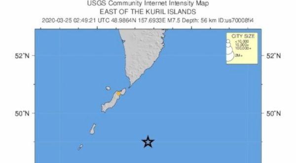 Terremoto de magnitud 7.5 golpea costa pacífica de Rusia | Noticias | teleSUR