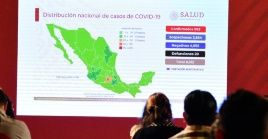 México reporta, hasta el domingo 29 de marzo, casi mil casos positivos de Covid-19.