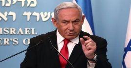 El Gobierno de Israel indicó que Netanyahu y su equipo de colaboradores permanecerán en cuarentena temporal.