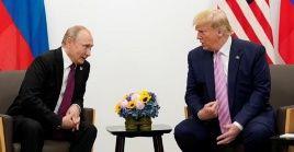 La ayuda humanitaria de Rusia a Estados Unidos fue abordada en una conversación telefónica entre los mandatarios de ambos países.