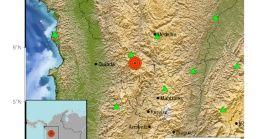 El sismo de la noche de este miércoles fue sentido fuerte por algunos colombianos.