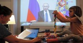 El presidente ruso reafirmó que la voluntad nacional, ya sea del Gobierno, las regiones y las empresas, es la de proteger a los ciudadanos