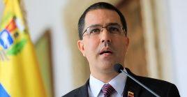 Jorge Arreaza indicó que la campaña de agresión a Venezuela responde es parte de su estrategia electoral.