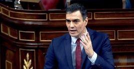 El presidente español, Pedro Sánchez, aseguró que tras los próximos quince días tendrá que solicitar al Congreso una nueva prórroga.