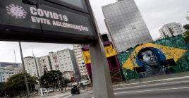 En Brasil el número de decesos por coronavirus llega a 1.056 victimas, siendo el país más afectado en la región.