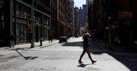 La urbe se mantiene bajo medidas de aislamiento social.