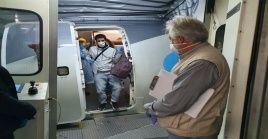 La operación humanitaria de repatriación se realizó entre Argentina, Chile, Uruguay, y México.