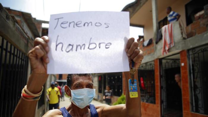 Colombianos protagonizan nueva jornada de protestas en Bogotá ...