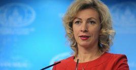 La portavoz del Ministerio de Asuntos Exteriores ruso, Maria Zajarova, reiteró que Irán no posee armas nucleares.