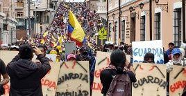 La Confederación de Nacionalidades Indígenas del Ecuador llamó a protestar el 1 de mayo desde las casas, no en la calle, contra el plan económico del Gobierno.