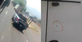 Los estudiantes publicaron un video en el que denunciaban que los policías le habían disparado.