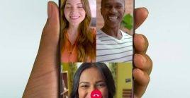 La plataforma de mensajería instantánea cuenta con tres formas para realizar una videollamada grupal.