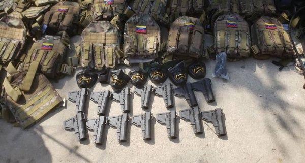 Las fuerzas de seguridad del Estado venezolano han logrado incautar un amplio arsenal en manos de los desertores.
