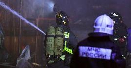Funcionarios de los servicios de emergencia determinaron que la causa preliminar fuego fue un cortocircuito en los equipos eléctricos.