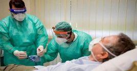 El Ministerio de Salud de Italia reporto que el total de infectados con la Covid-19 hasta la fecha es de 222.104 y 31.106 decesos.