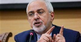 El canciller iraní Mohamad Yavad Zarif denunció las intenciones de EE.UU. y recalcó que su nación y Venezuela tienen derecho a comerciar.