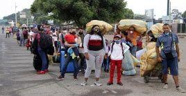 En medio de la pandemia de la Covid-19, las autoridades venezolanas informaron que casi 42.000 connacionales han retornado al país.