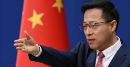 El portavoz Zhao Lijian manifestó que la retirada de EE.UU. del Tratado de Cielos Abiertos es otra expresión de su adhesión a la mentalidad de la Guerra Fría.