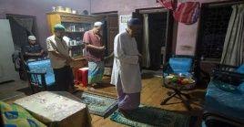 En diferentes partes del mundo el fin del mes sagrado del Ramadán se celebro en confinamiento tras la Covid-19.