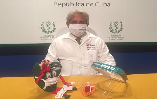 Dr. Francisco Duran has given information to the Cuban people since the beginning of the pandemic