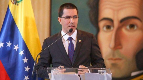 El canciller Jorge Arreaza denunció nuevas persecuciones de EE.UU. contra la economía venezolana.