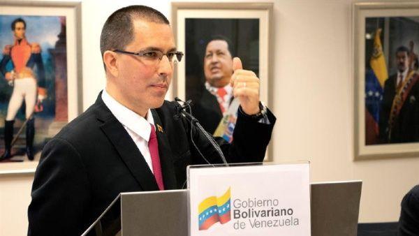 El canciller Arreaza afirmó que Mike Pompeo tiene una obsesión con Venezuela, y busca que se quede sin gasolina y venta de crudo.