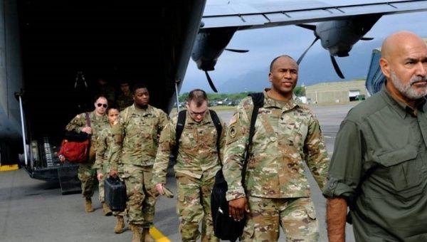 Los militares estadounidenses se desplegarán por varios departamentos de Colombia durante cuatro meses.